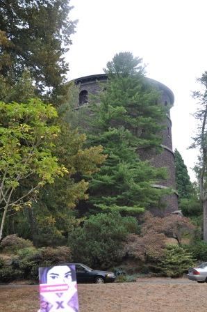Volunteer Park water tower.